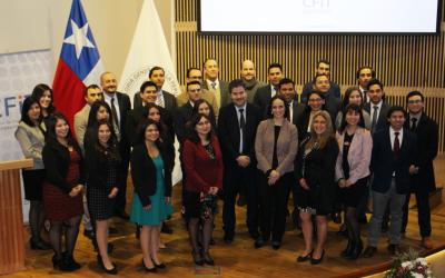 Continúa consolidación de Ley de Fortalecimiento SII: Se gradúan 26 nuevos técnicos fiscalizadores