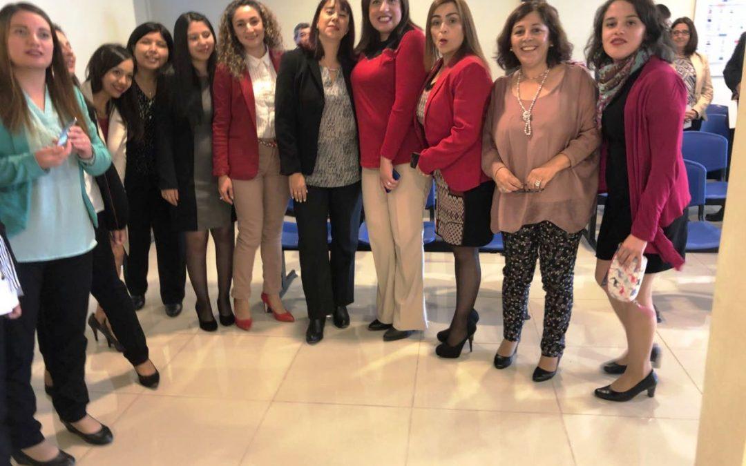 Presidenta ANEIICH Valparaíso asiste a inauguración de la Unidad SII de San Antonio
