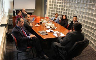 Directorio nacional ANEIICH se reúne con Subdirector de Contraloría Interna del servicio