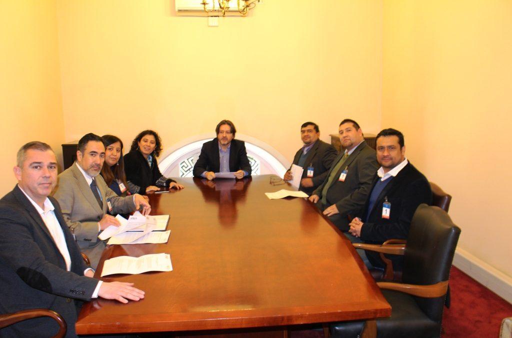 ANEIICH y AFIICH se reúnen con diputado Tucapel Jiménez por proyecto de Modernización Tributaria