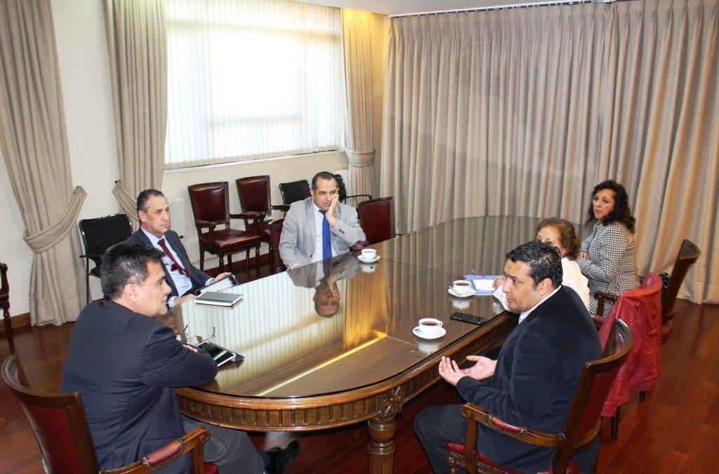 Directorio Nacional en reunión protocola con Director SII
