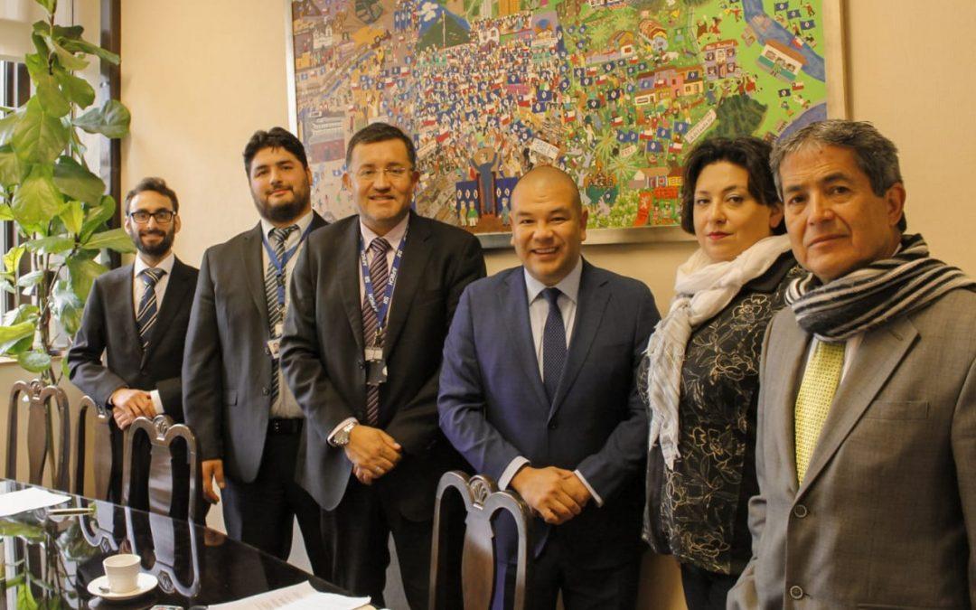 Directorio ANEIICH Valparaíso sostiene ronda de reuniones con diputados/as