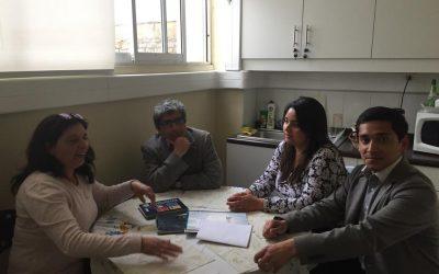 Directiva ANEIICH del Maule realiza visita informativa a Cauquenes