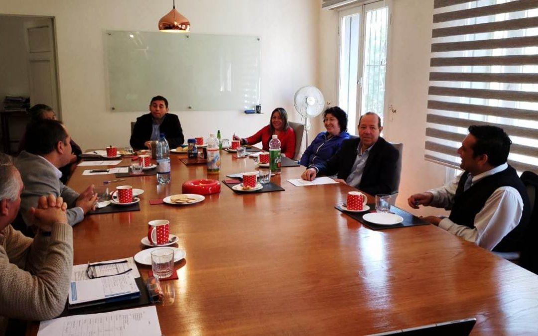 Nuevo Directorio Nacional inicia reuniones con Comisiones de trabajo ANEIICH