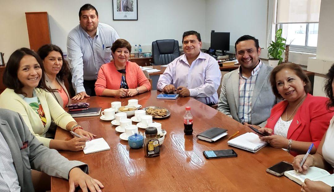 ANEIICH sostiene reunión protocolar con Directora Regional sur