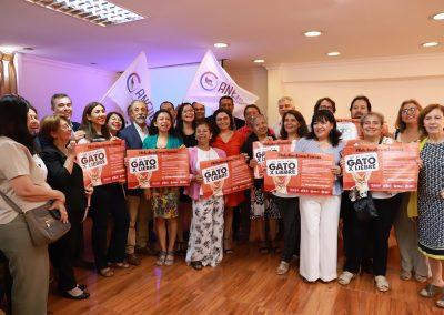 Lanzamiento campaña #QueNoTePasenGatoxLiebre