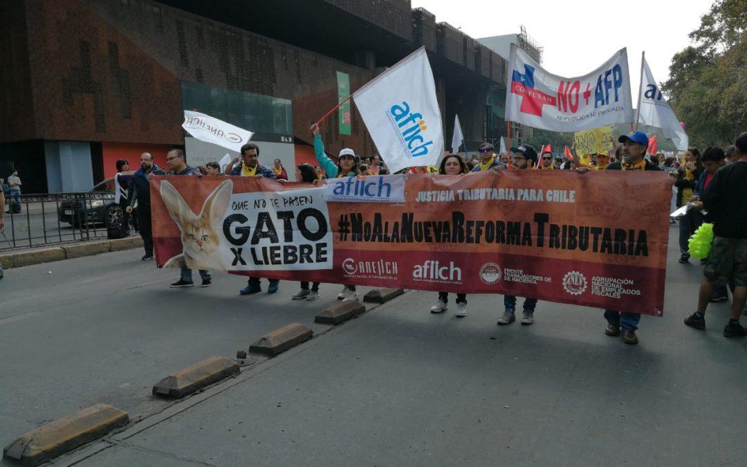ANEIICH en Marcha Nacional por No+AFP