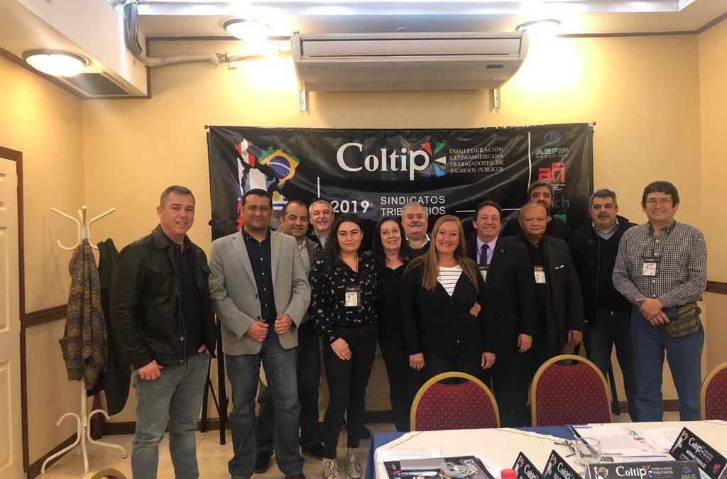 ANEIICH se convierte en miembro fundador de la Confederación Latinoamericana de Trabajadores de Ingresos Públicos tras firma fundacional en Buenos Aires