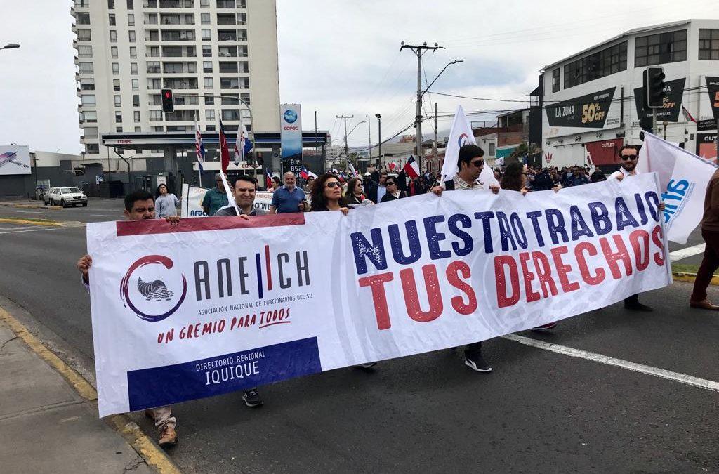 Con masiva presencia de ANEIICH a nivel nacional, movilización social alcanza máximos históricos de convocatoria y ANEF llama a continuar Huelga General este lunes 28
