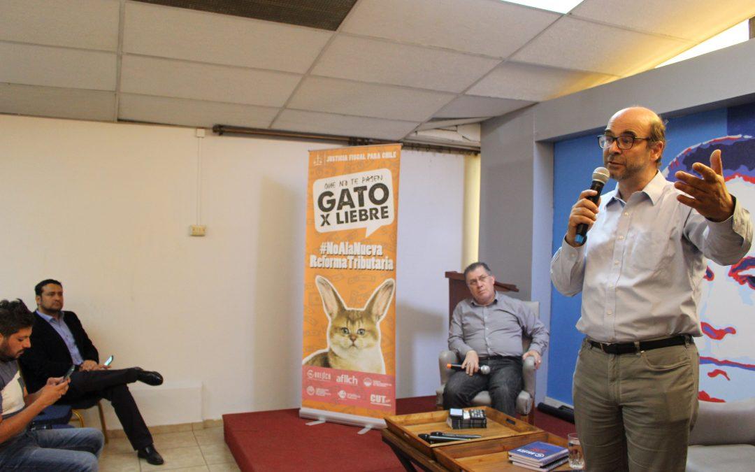 """ANEIICH desarrolla exitoso conversatorio: """"Nueva Constitución para un nuevo Pacto Social"""" con el profesor Fernando Atria"""