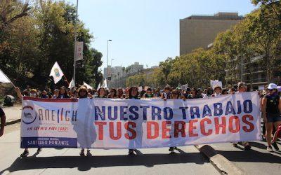 ANEIICH se despliega en una nueva conmemoración del Día Internacional de la Mujer Trabajadora