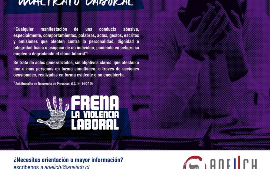 Campaña de erradicación de la violencia en los puestos de trabajo ANEIICH