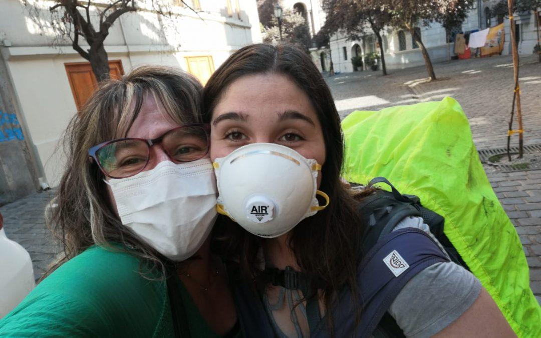 La odisea de nuestra socia Karina Collío para traer a su hija Consuelo de regreso a Chile en pleno estallido inicial de la Pandemia Coronavirus