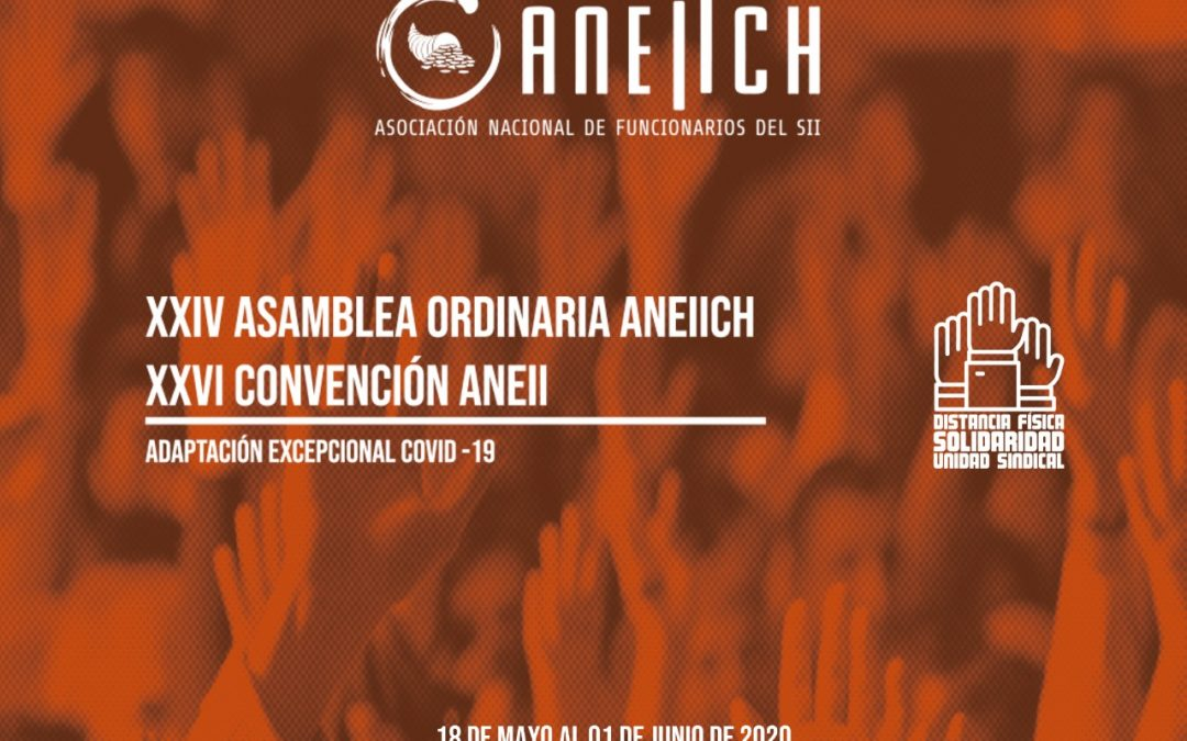 XXIV Asamblea Nacional ANEIICH y XXVI Convención ANEII concluye con alta participación en un formato inédito debido a la Pandemia