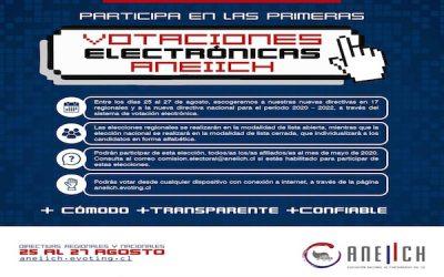 Se inicia proceso de inscripción de candidaturas para elecciones regionales ANEIICH