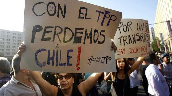 Trabajadores y trabajadoras del SII rechazan ratificación por parte del Estado chileno del tratado TPP-11