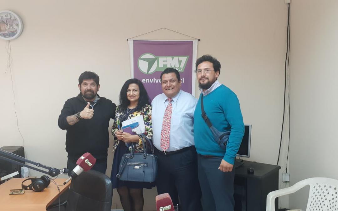ANEIICH Antofagasta asiste a programa radial para abordar Reforma Tributaria y temas gremiales