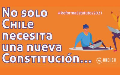 Participa del proceso de Reforma de Estatutos ANEIICH 2021