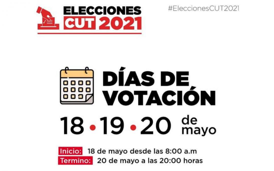 Todas y todos podrán participar en la Primera Elección Universal de Dirigentes CUT