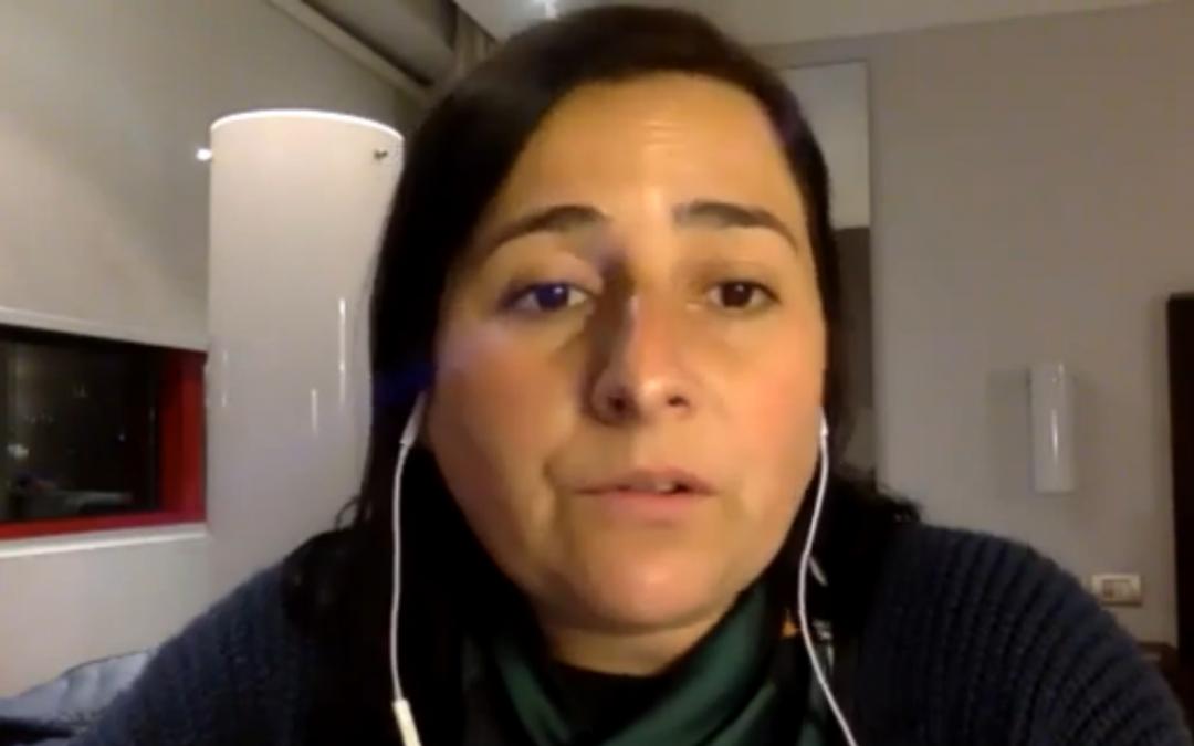 Loreto Vallejos, constituyente: Las organizaciones sociales están invitadas a participar en la Convención Constitucional