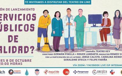Invitación Obra de Teatro ¿Servicios Públicos de Calidad?